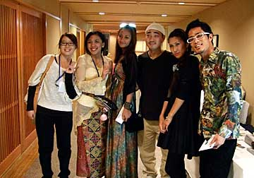 函館市内に滞在中の留学生