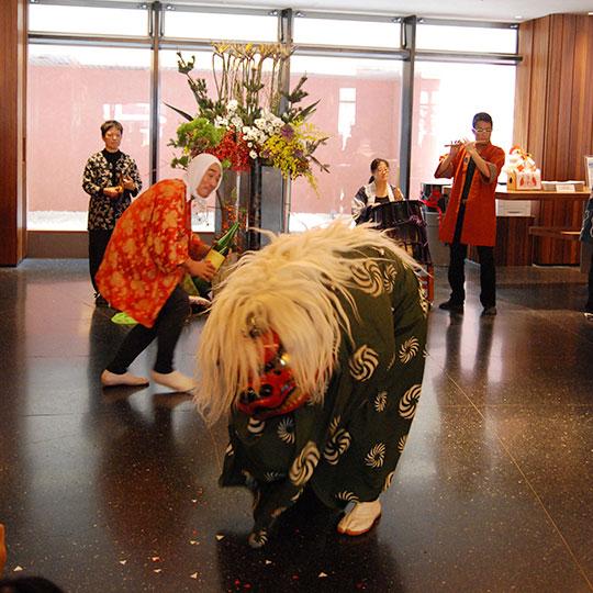 ひのき屋の新春獅子舞企画